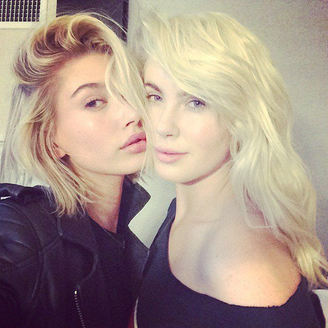 Pin for Later: Why Hailey Baldwin Is Destined to Be the Next Top Model Which makes her Ireland Baldwin's cousin Ireland is Alec Baldwin and Kim Basinger's daughter. She's also a model and dates the rapper Angel Haze. Do you follow?