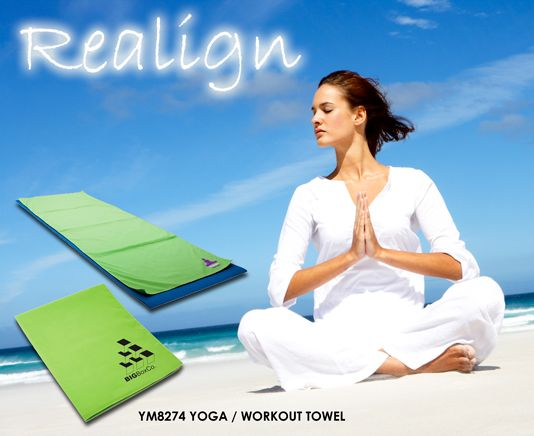 Enjoy this YM8274- Yoga/Workout Towel! Perfect to be used anywhere!