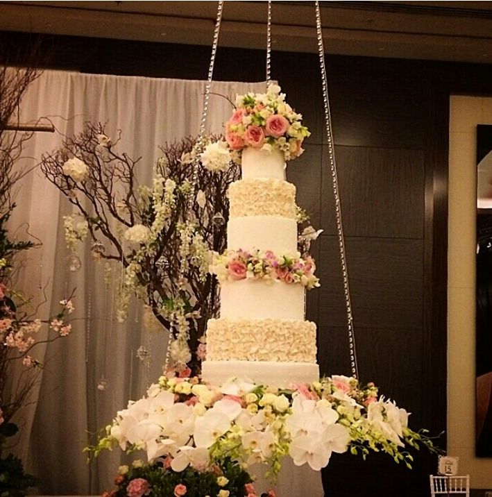 Wedding Altar Weheartit: 8 Best Hanging Cake Table Images By Flower Collection UK