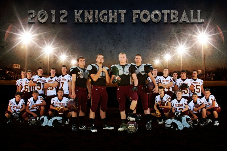 Football team posters    Korinna Braun Photography
