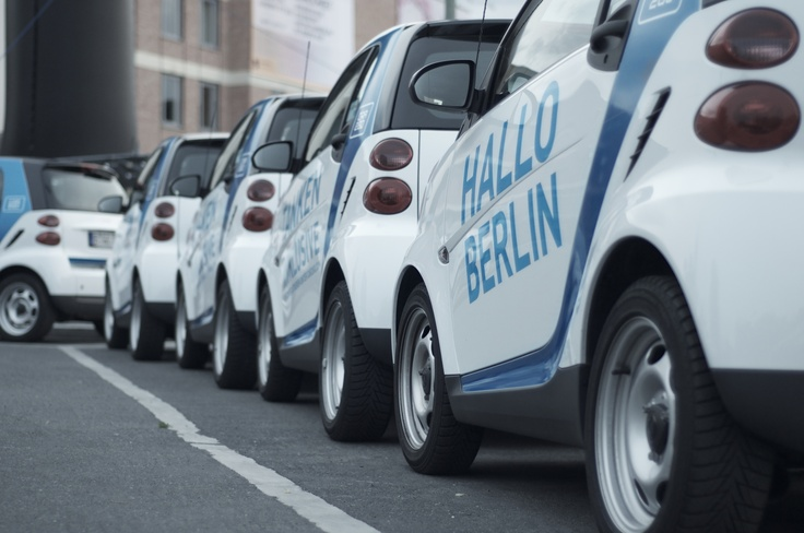car2go at the Potsdamer Platz Berlin #car2go #carsharing #Berlin