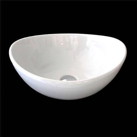 RAK - Shell Sit On Vanity Basin - No TH - SHELBAS