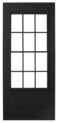 Top Self Storing Colonial Storm Doors | Andersen EMCO 400 Series