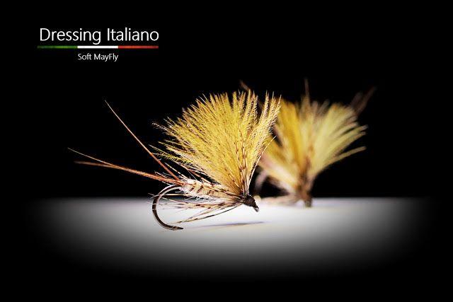 Dressing Italiano: Costruzione mosche secche: SOFT MAYFLY by Dressing...