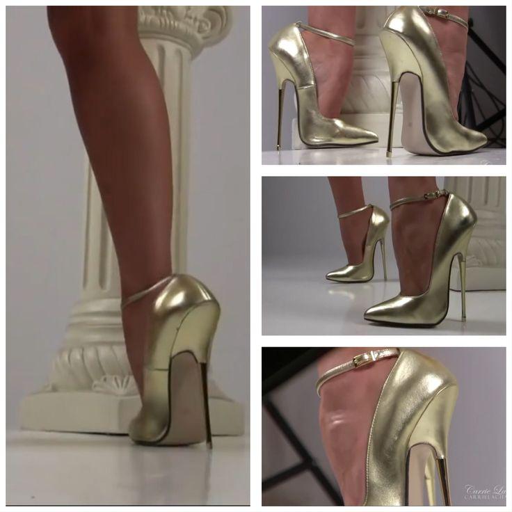 16cm 6inch high stiletto heels EU44