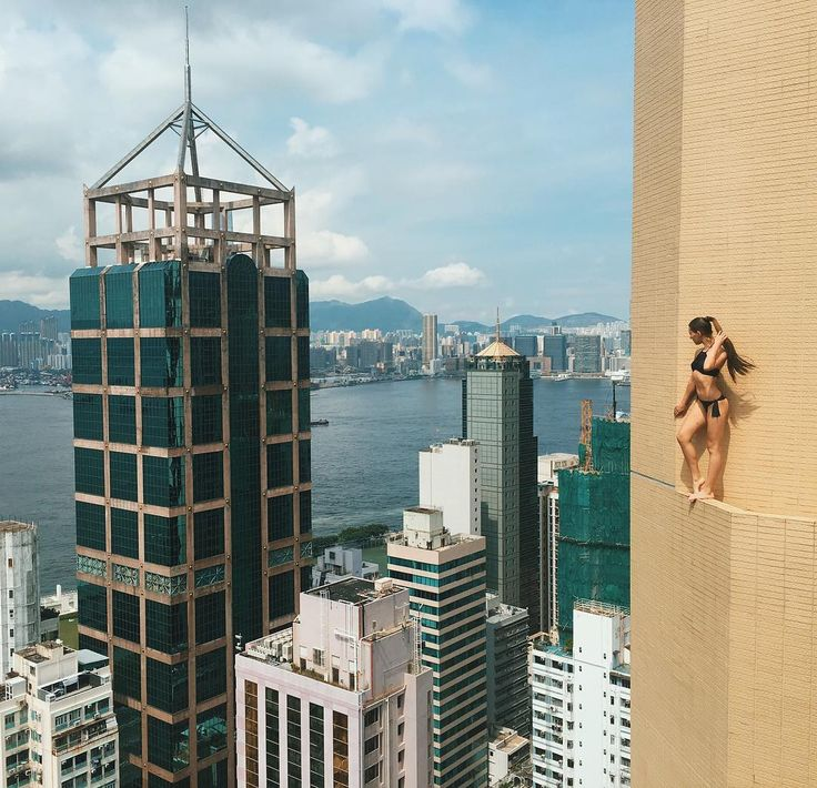 Best Selfies Extremas Images On Pinterest Climbing - Daredevil films extreme parkour on top of skyscraper