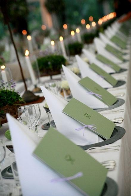 Decoration for country wedding Allt om Bröllop | Duka grönt