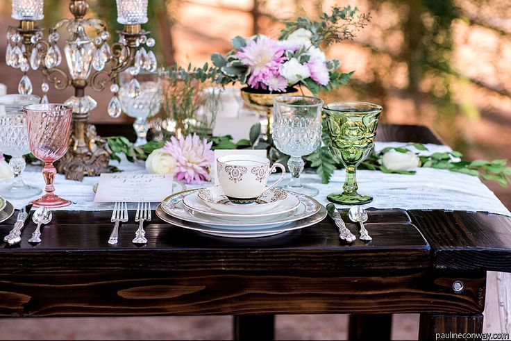 """We used soft tones, with accents of light pink and greenery. We used a detailed tablescape and beautiful garland add a romantic feel to the shoot. We had a charming love off-white love sofa that really created a utopian essence that tied everything together."" - See more at: http://www.thesoutherncaliforniabride.com/2014/11/whimsical-rustic-wedding-inspiration.html#sthash.KTvSN8zJ.dpuf"