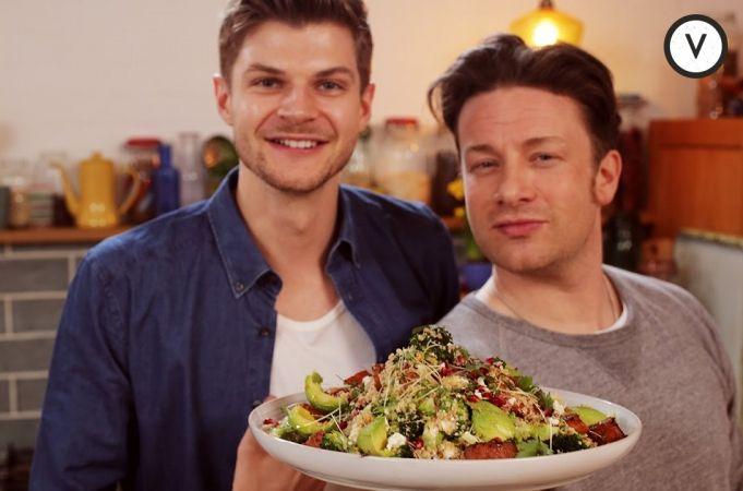 Jamie Oliver Super Food Salad with Sweet Potatoes and Feta