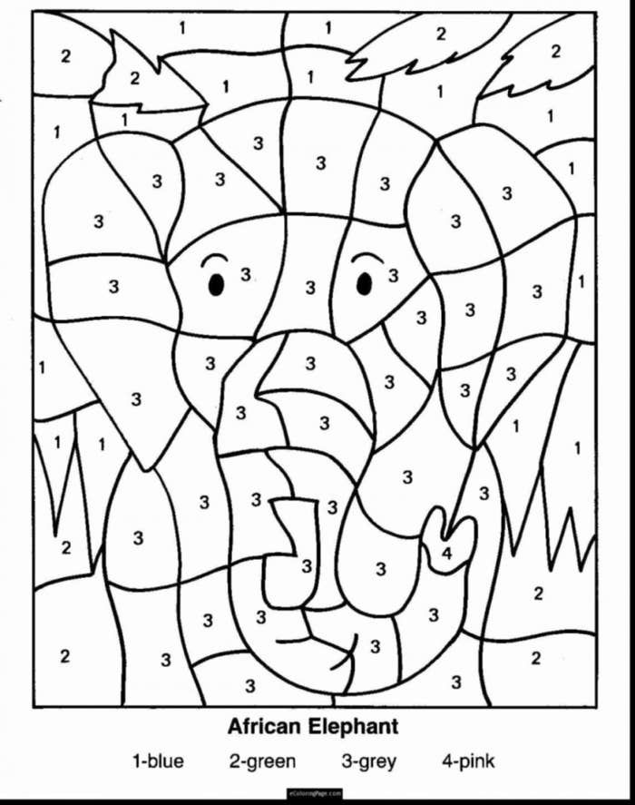 Doing Color By Numbers Christmas Math Worksheets Math Coloring Worksheets Holiday Math Worksheets Holiday color by number worksheets