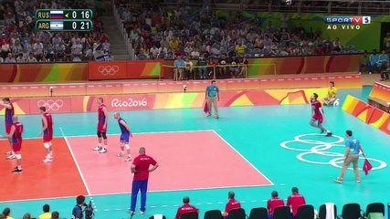Voleibol Masculino Rio 2016 - Russia vs Argentina SPORTV 09.08.2016 01/02   lodynt.com  لودي نت فيديو شير