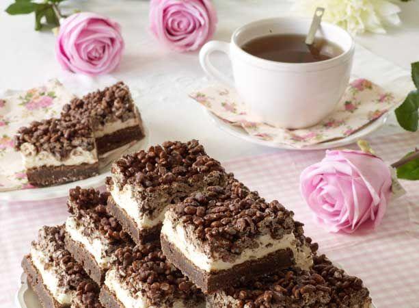 Marshmallowsbrownies med chokladkrisp | .Hembakat | mashmallow and chocolate crisp brownies