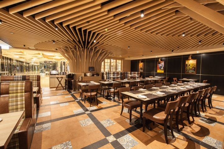 CIAK All Day Italian restaurant by Mas Studio Limited Hong Kong  China