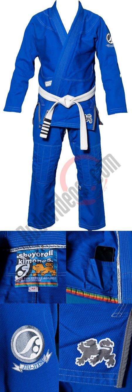 Budovideos.com - Shoyoroll Superlite 2 Blue BJJ Kimono Batch #6
