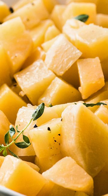 Buttered Rutabagas