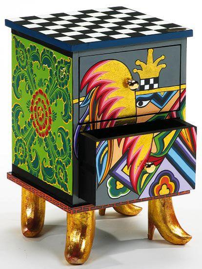 I Love The Funky Shape By Artist Richard Dunbrack.