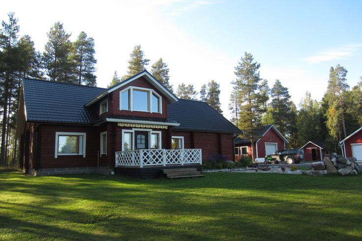 hirvipirtit lapland cabins, Taivalkoski Finland, the hosts house