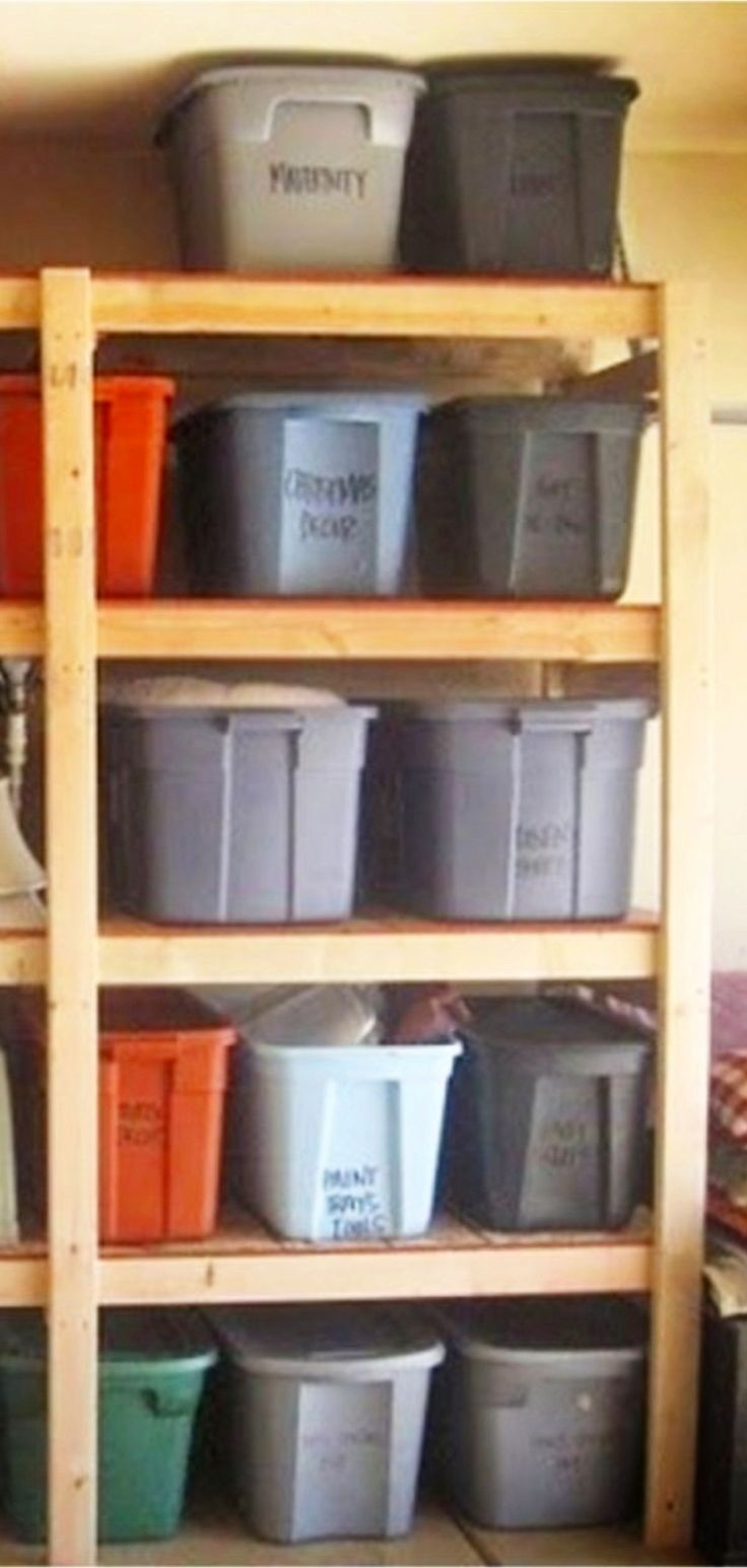 Are you someone that has a messing garage that is not prepared. Below are 42 garage storage ideas that will  definitely  aid you  organize your garage like a champ.