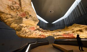 Rock stars … the new International Cave Art Centre in Montignac, Dordogne, France.  Visit this on our Inn-to-Inn Canoe Tour of the Perigord region in France.  www.greenrivercanoes.com