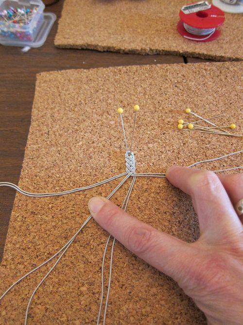 Tuto Bracelet sami - Sami bracelets are like the Viking posaments