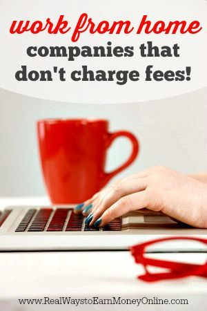 Are you tired of being asked to pay to start work from home jobs? If so, this post will help you. This is a big list of legitimate work from home companies that charge absolutely no fees to get started.
