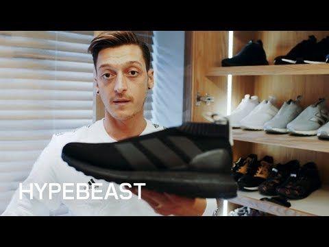 Mesut Özil INSANE SNEAKER COLLECTION!! HOUSE TOUR 2017 - YouTube