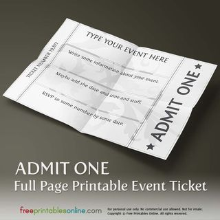 how to make event tickets online free