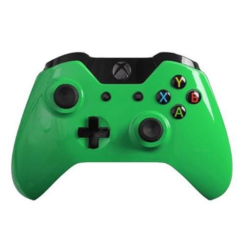 Shell Kit Gloss Green For Xbox One Model 1537 Controllers