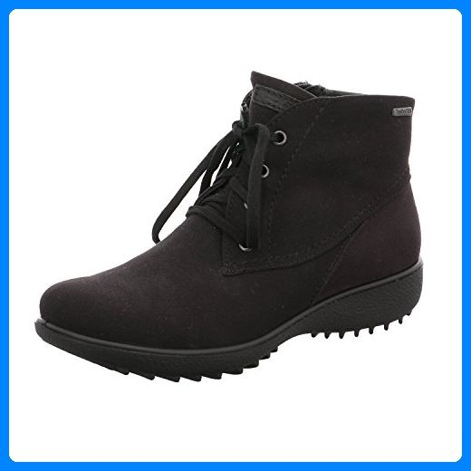 SALE - ROMIKA - Nadja 126 - Damen Boots - Schwarz Schuhe in Übergrößen, Größe:44 - Schnürhalbschuhe für frauen (*Partner-Link)
