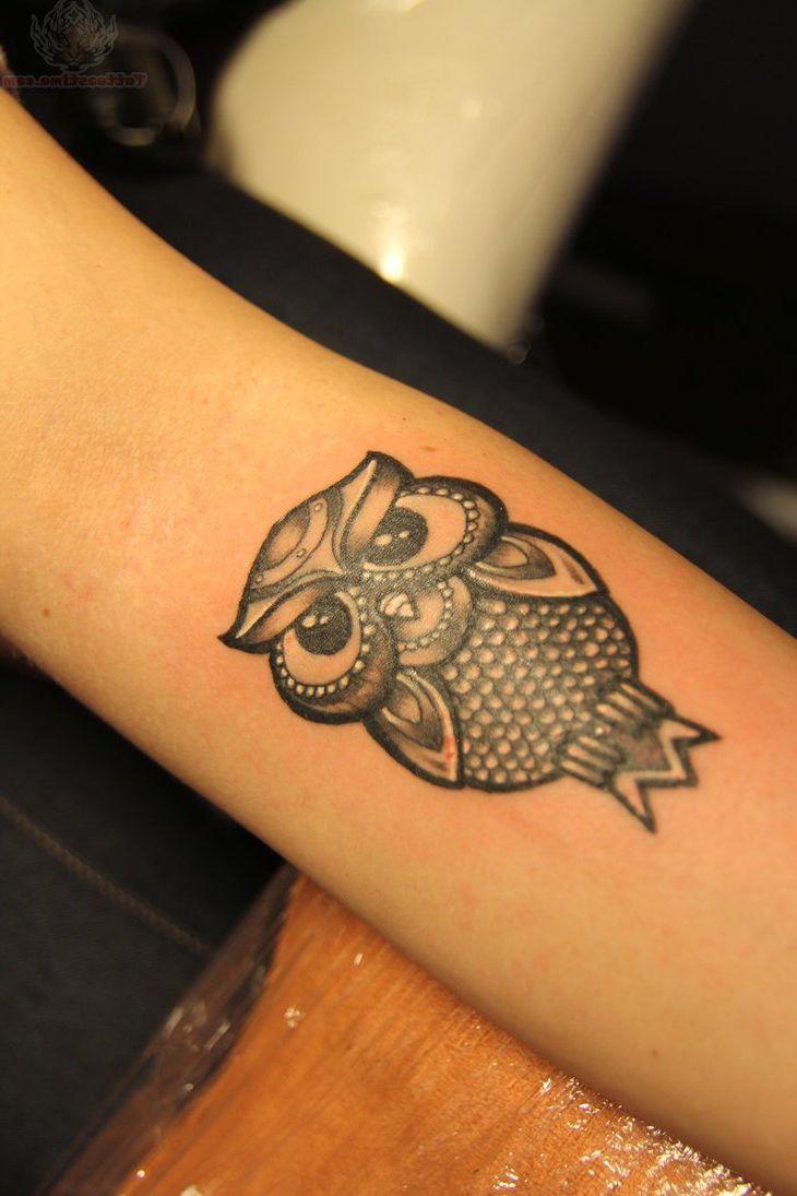 17 Best Ideas About Simple Owl Tattoo On Pinterest
