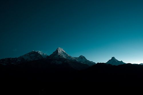 mountains at dawn: Inspiration, Place