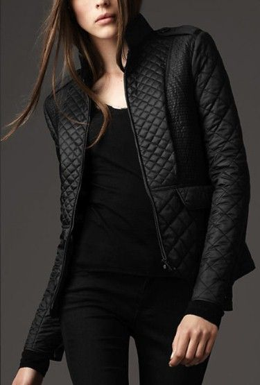 Burberry Puffer jacket- check out the various quilt patterns- $495