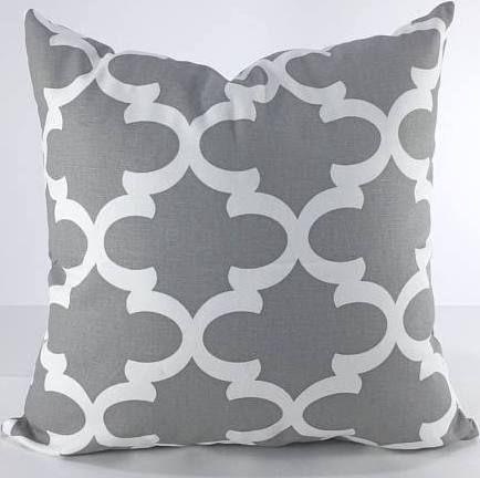 grey cushion covers 22x22