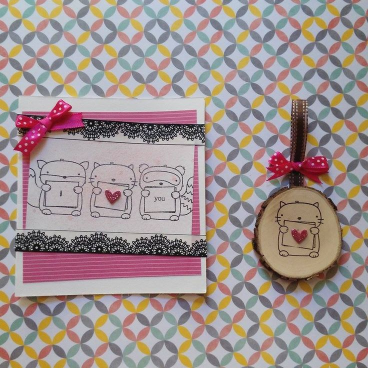 Card with home decor 2