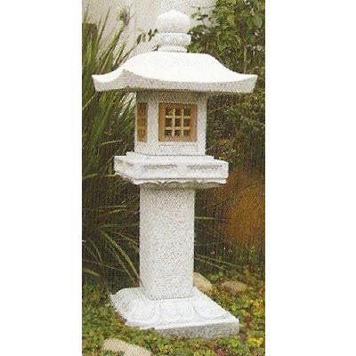 Arata japanese stone lantern gardens garden lanterns for Wooden garden lanterns