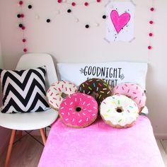 Donut pillows ♥