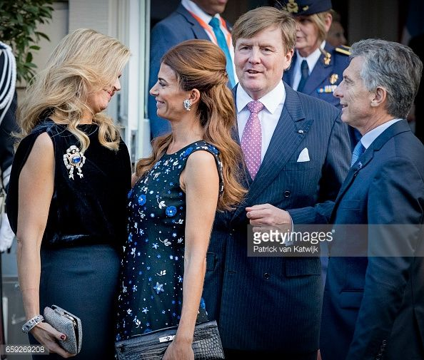 President of Argentina Mauricio Visits The Netherlands : Day Two