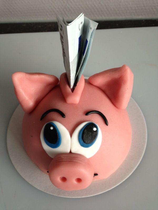Spaar varken taartje