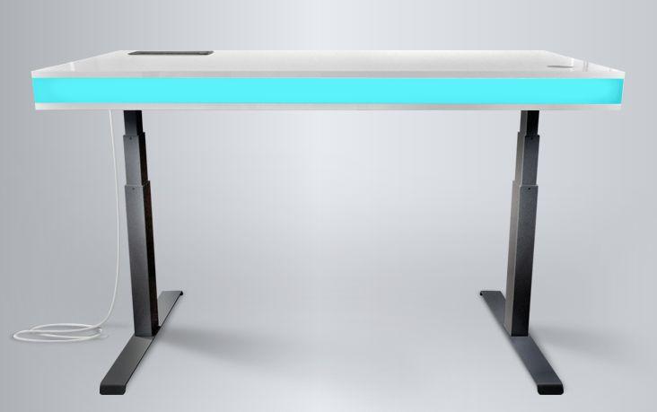 tableair smart desk changes height via sensing module read more, Attraktive mobel