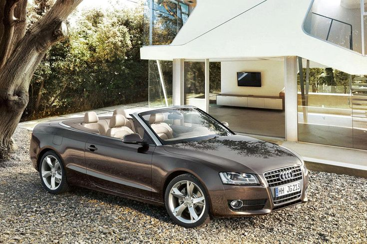 #Audi A5 Cabriolet - This metallic color is really beautiful.