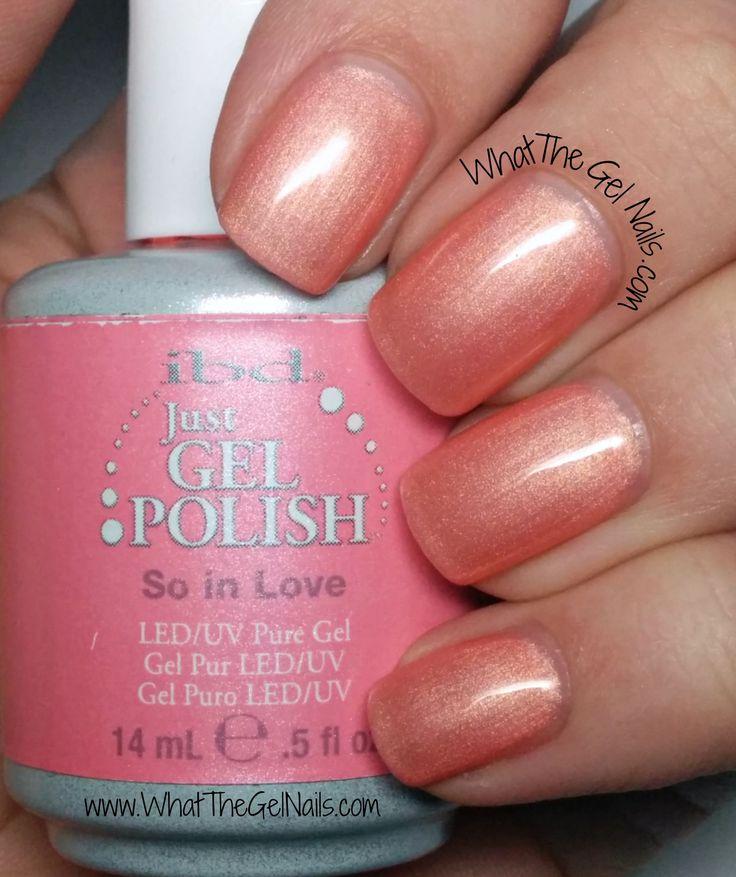 IBD So in Love, plus more IBD Just Gel Nail Polish Colors