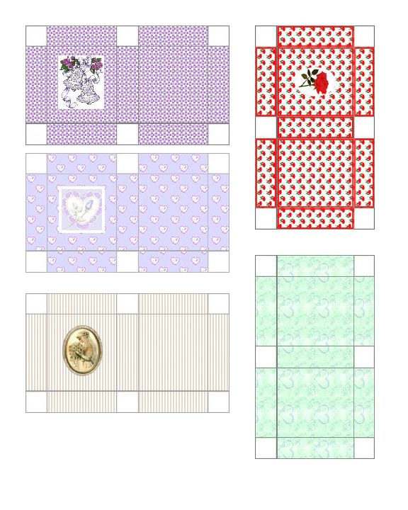 Dollhouse Printable Boxes: 25 Best Miniature Printie Boxes Images On Pinterest