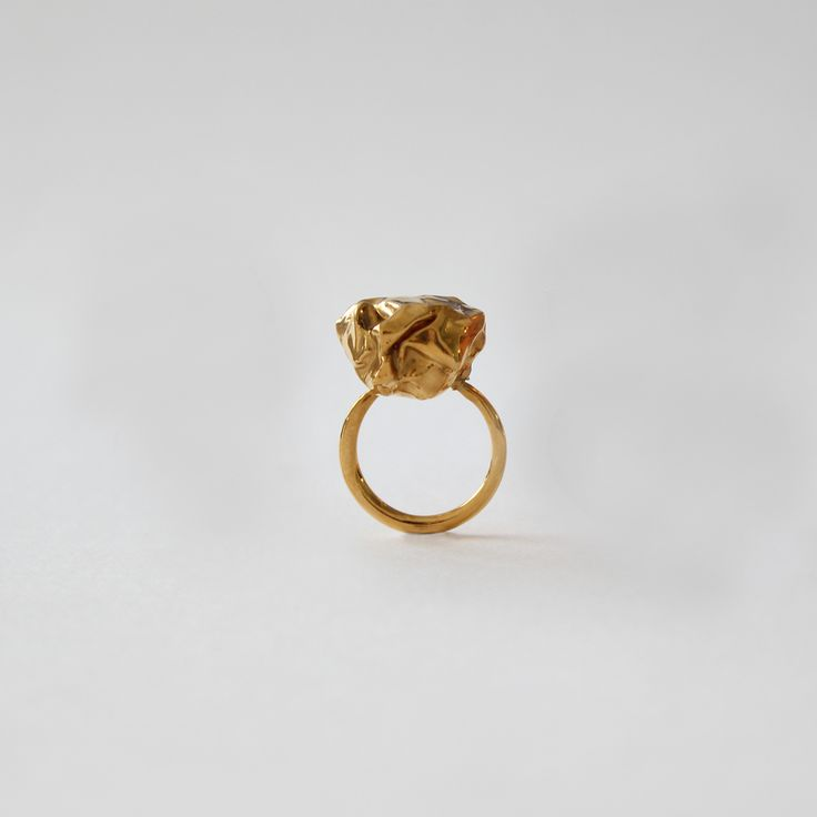 Gold ring | $180