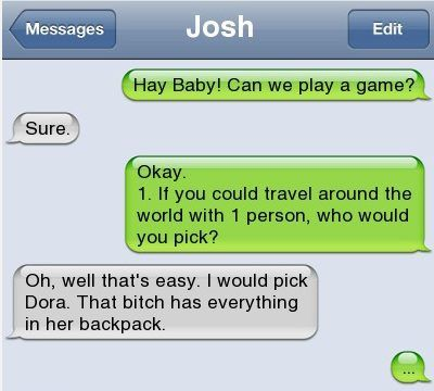 Epic text - Hey baby - http://jokideo.com/epic-text-hey-baby/