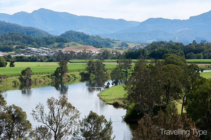 The lovely hills and valleys of Murwillumbah, NSW.
