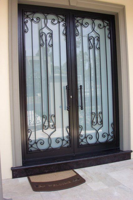 16 best images about house grills on pinterest best iron for Iron window design house
