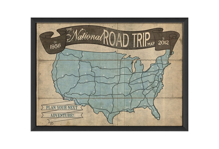 One Kings Lane - The Artwork Factory - The National Road Trip Map