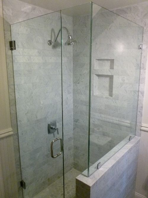 1000 Ideas About Corner Shower Doors On Pinterest