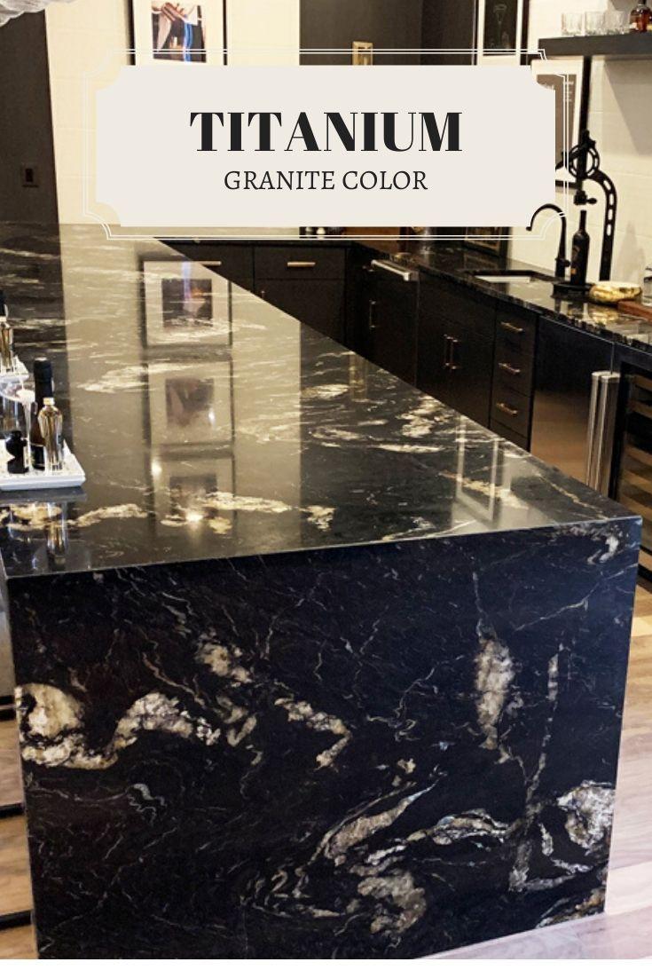 Titanium Granite Countertops Kitchen Countertops Va In 2020 Titanium Granite Granite Countertops Granite Countertops Colors