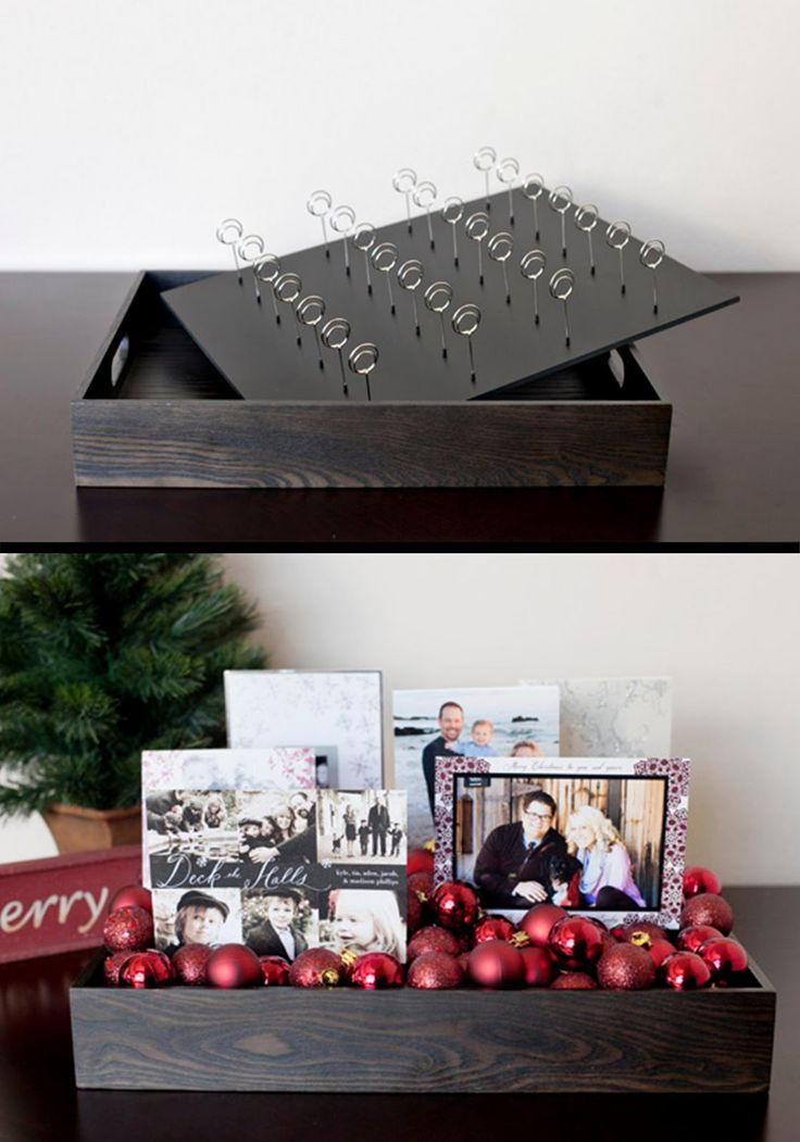 Christmas Card Display: